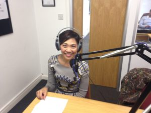 Toshiko radio interview