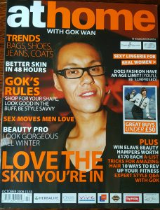 at home with Gok Wan magazine